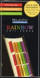 72 Vertical Rainbow Foil-Edged Bible Tabs